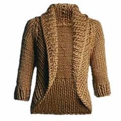 casaco marrom (TacianaParelho) Tags: e trico croche