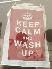 Keep Calm and Wash up