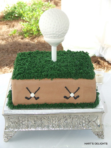 Golf Ball Groom's Cake