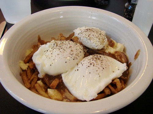 The Diego: Poached Eggs over Poutine from Shopsins
