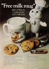Vintage Ad #914: Free Milk Mug from the Pillsb...