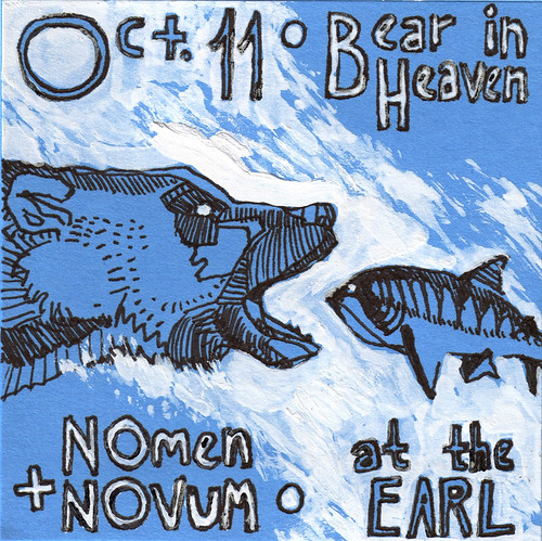 Oct 11 • Bear in Heaven • Nomen Novum • at the EARL