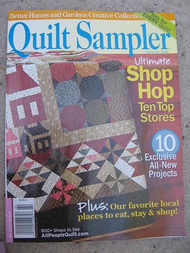 quilt sampler mag - cover
