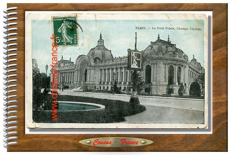 PARIS. - Le Petit Palais- Champs-Elysées
