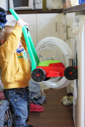 Lawnmower in Washing Machine (2)b