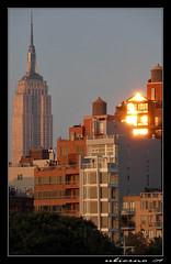 Sunset at Hudson River Park (Ubierno) Tags: park new york usa newyork west building river us village state manhattan empire hudson nueva nuevayork ubierno