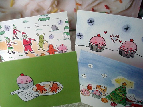 CakeSpy holiday cards 2009!