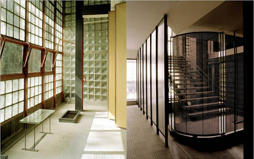 The best house in paris maison de verre high fit home - La maison du bain paris ...