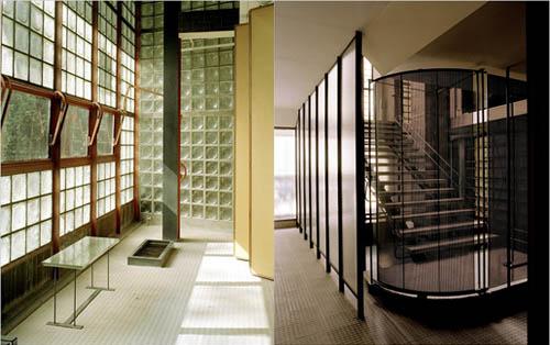 The best house in paris maison de verre high fit home - La maison du bain paris ...
