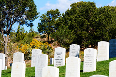 Fallen Heroes and Families (fj40troutbum) Tags: newmexico santafe cemetery grave canon soldiers fallenheroes nationalcemetery top20nm