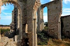 Covehithe Suffolk (Martin Pettitt) Tags: summer church coast suffolk ruins bluesky iphoto churchyard covehithe nikond90 afsdxvrzoomnikkor18105mmf3556ged