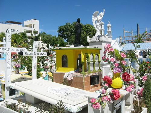 Cemetry on Isla Mujeres