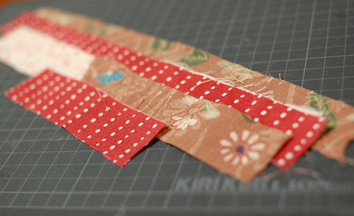 How to make a patchwork Lanyard 1