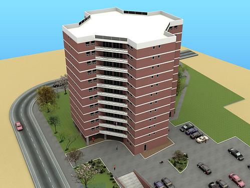 3D Exterior Models   3D Exterior Building Design Models
