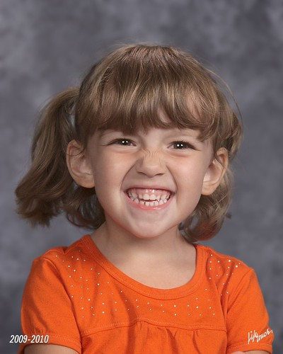 Cait's First School Picture