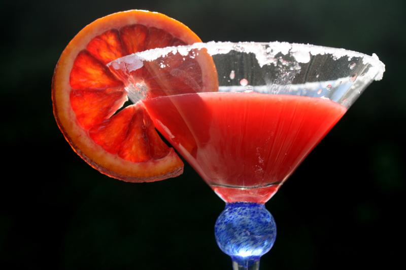Blood orange Margarita | Z Tasty Life