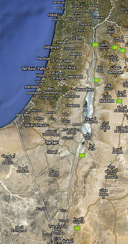 Google Maps Israel back to English