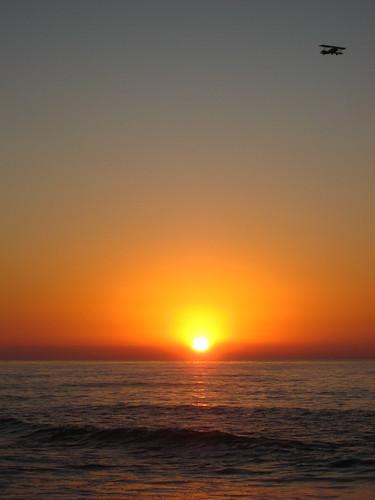 Pacific Ocean Sunset, La Jolla, San Diego