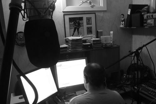 b&w studio view