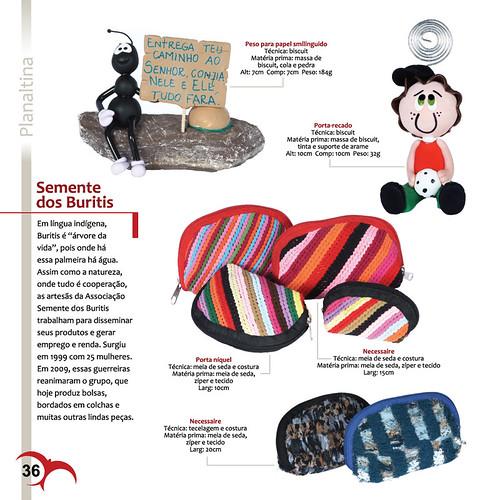 Catálogo - Grupo Semente dos Buritis - Planaltina / DF by PARANOARTE
