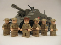 "Canadian Sexton II (""Rumrunner"") Tags: men infantry self army gun tank lego brodie wwii helmet machine canadian 2nd ii ww2 artillery decal custom bren worldwar2 brigade sexton propelled allies armoured brickarms"