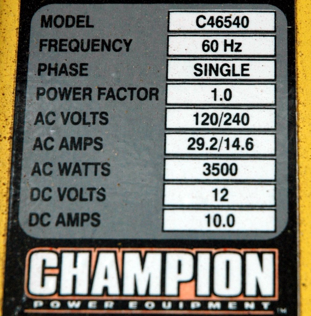 Champion Generator Carb Tear-Down Walk-Through (56k-killer