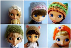 my blythes in hats