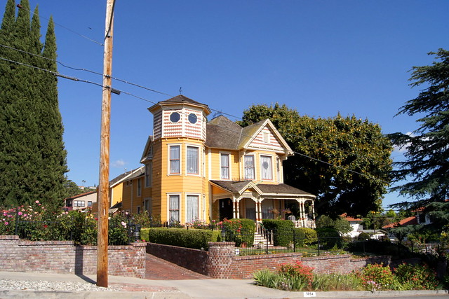 historic house in Uptown Whittier