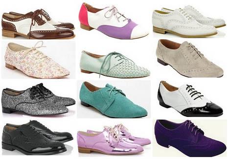 sapatos oxford 2012