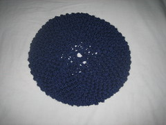 Knitting project #10 - The larger blackberry beret