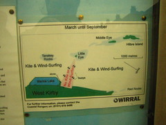 Wirral Wondering - Big area to Kite Surf (oceanician) Tags: wirral westkirby hoylake hilbreisland