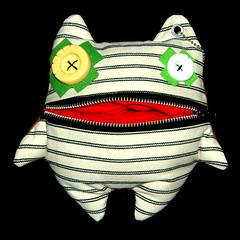 Goff - Toco Junk Plush Monster