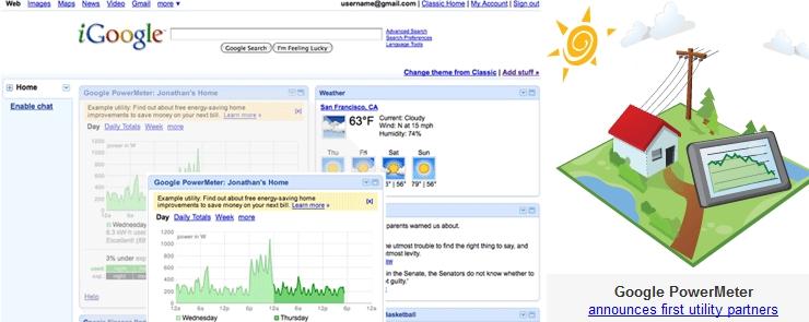 google powermeter consommation en ligne