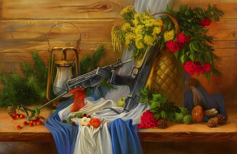 Натюрморты с оружием