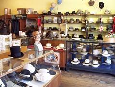 100_0338 Men's Dress Hats (Ye Ole General Store) Tags: store general ole ye