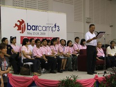 BarCampbkk3 Opening Ceremony