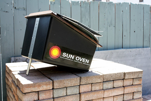 Solar Oven At Atelier