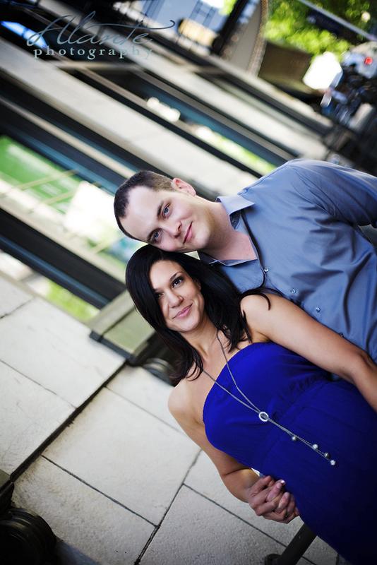 Seattle wedding engagement photo session