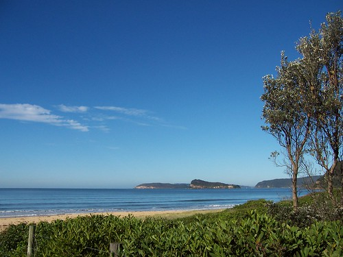 Lion Island from Umina Beach