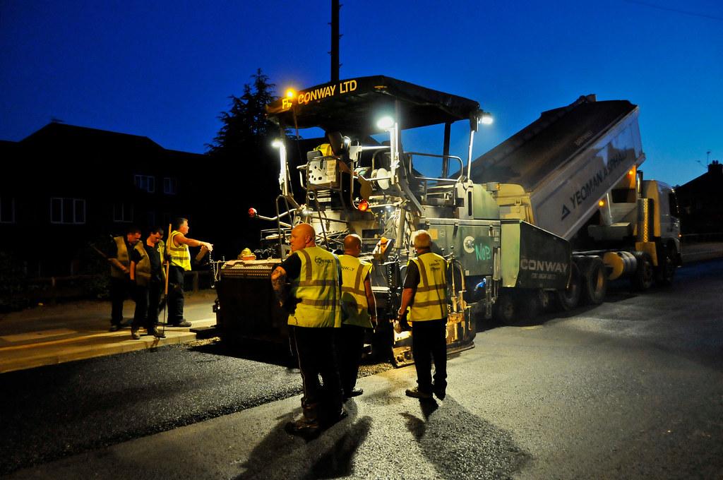 Manor Road resurfacing  605