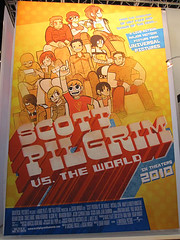 Scott Pilgrim vs. The World Licensing Poster