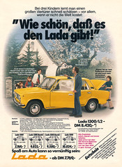 Lada 1300 (1978) (jens.lilienthal) Tags: auto old classic cars car vintage print advertising media reclame ad voiture historic advertisement advert older 1200 autos werbung 1500 lada kombi reklame voitures 1300 anzeige youngtimer