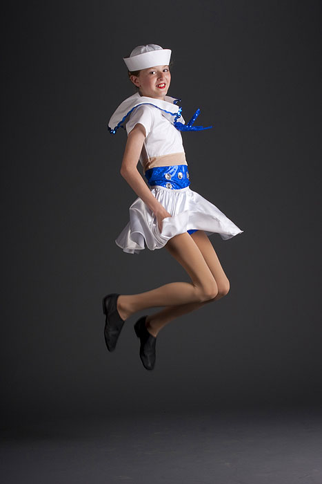jumping sailor