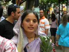 Hare Krishna Parade NYC (Gotham City Lost And Found) Tags: nyc newyorkcity festival manhattan indian ceremony culture celebration ritual ethnic hindu rite far cultur
