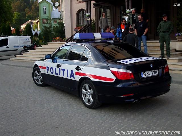 bmw530 romanianpolicecar