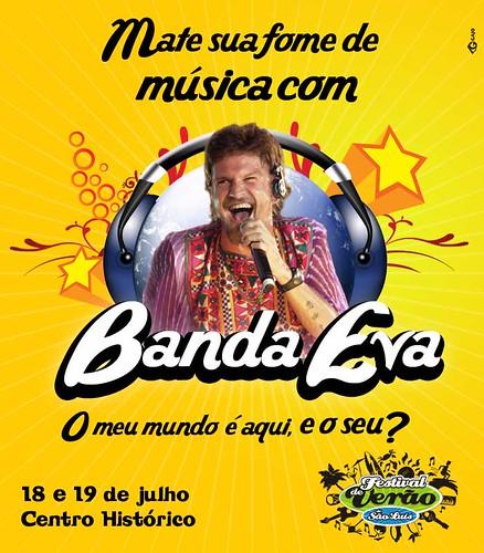 BANDA EVA É UM PRATO CHEIO por Central de Eventos & Marafolia X5.
