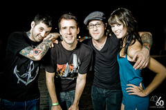 Anthony and Andy with Jamie of TWLOHA and Hayden (Chris Martin | photosbychrismartin.com) Tags: show photography orlando concert nikon jamie florida live acoustic bayside chrismartin backbooth hotrodcircuit andyjackson d40 towriteloveonherarms anthonyraneri twloha photosbychrismartin wwwphotosbychrismartincom