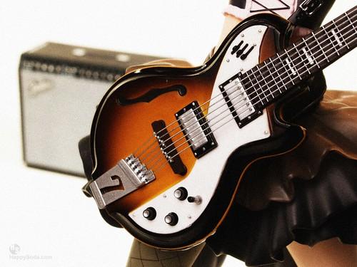 Haruhi's Guitar Closeup