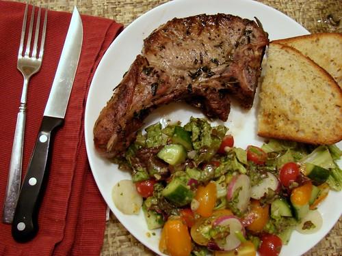 Dinner:  June 24, 2009