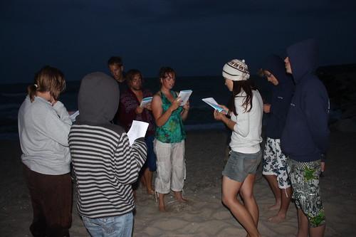Worship on the beach, Varna, Bulgaria